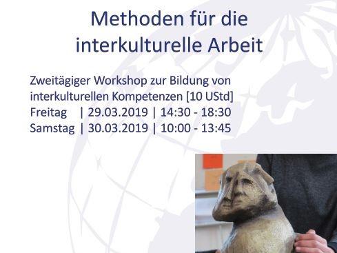 """Workshop """"Methoden für die interkulturelle Arbeit"""""""